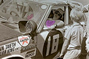 Safari Rally - Checkpoint in the 1972 rally.