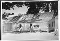 EAST ELEVATION PRIOR TO RESTORATION - Pena Adobe, Pena Adobe Road, Vacaville, Solano County, CA HABS CAL,48-VACA,1-1.tif