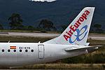 EC-KYO Embraer 195 Air Europa tailfin VGO.jpg