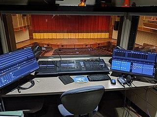 Lighting control console