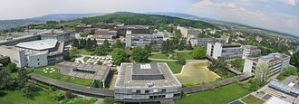 ETH Zurich - ETH Hönggerberg with the new HIT building