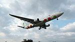 EVA Air A330-302X B-16332 Final Approach to Taipei Songshan Airport 20150101b.jpg