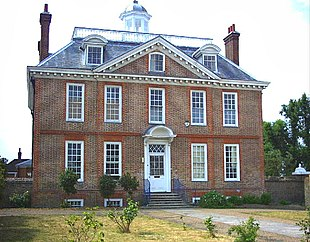 Eagle House, London Road, Mitcham, built in 1705