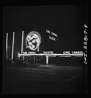 Earl Carroll Theatre - Earl Carroll Theatre, Hollywood