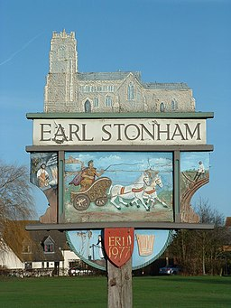 Earl Stonham Village Sign (Detail) - geograph.org.uk - 311632.jpg
