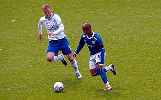 Matt Mills - Mills in a league match against Cardiff City on 25 September 2011