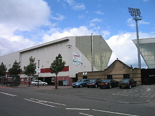East End Park football stadium