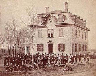 Norridgewock, Maine - Image: Eaton School, Norridgewock, ME
