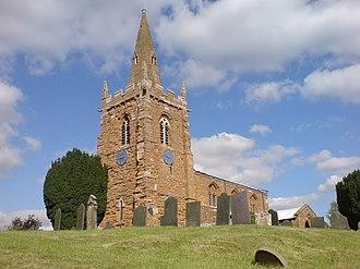 Eaton, Leicestershire - Image: Eaton St Denis 1