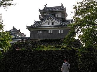 Ōno Castle (Echizen Province) - reconstructed donjon of Ōno Castle