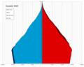 Ecuador single age population pyramid 2020.png