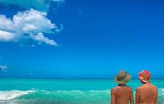 Five Islands, Antigua and Barbuda - Eden Beach near Five Islands Village.