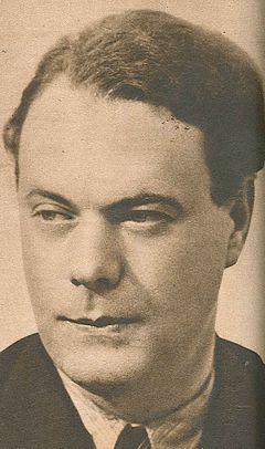 Johannes Edfelt i begyndelsen af 1940'erne.