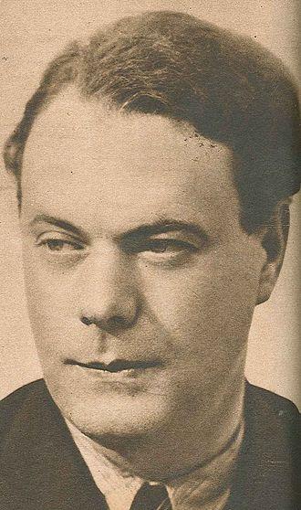 Johannes Edfelt - Johannes Edfelt in the early 1940s.