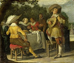 An outdoor party