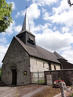 Effry (Aisne) église Saint-Laurent.JPG