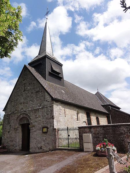 Effry (Aisne) église Saint-Laurent
