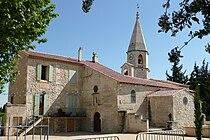 Eglise à Saint-Pierre-de-Mézoargues.JPG