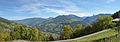Eisack valley and Gröden seen from Dreikirchen.jpg