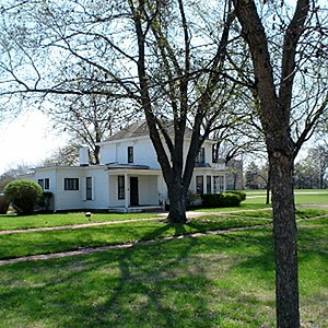 Dwight D. Eisenhower - The Eisenhower family home, Abilene, Kansas