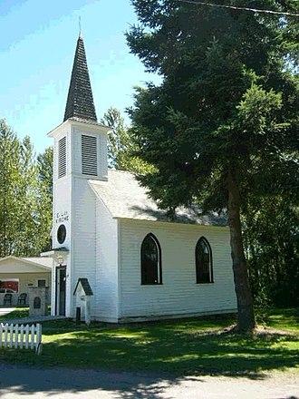 Elbe, Washington - Elbe Evangelisch Lutherische Kirche