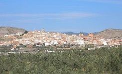 Elche de la Sierra, Albacete, Castilla-La Mancha, España, desde la carretera de Murcia.jpg