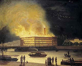 Fire at Eldkvarn 1878
