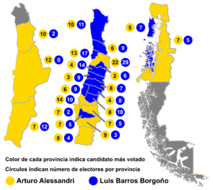 Chilean presidential election, 1920 - Image: Elección presidencial Chile 1920