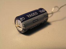 Electrolytic capacitor pressure release valve blown