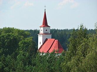 Daugavpils Municipality - Image: Elerne church