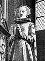 Elizabeth of Mecklenburg (1581) cenotaph on husband's grave Schwerin.jpg