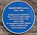 Ellen King blue plaque.jpg
