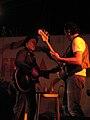 Elliott Murphy e Antonio Righetti 2 - Festa de l'Unità, Borsea (RO) - 5 luglio 2005.jpg