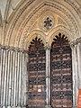 Ely Cathedral - west doorway - geograph.org.uk - 2168271.jpg