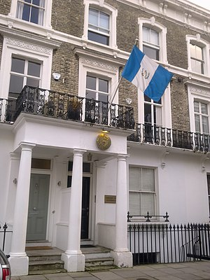 Embassy of Guatemala, London - Image: Embassy of Guatemala in London 1