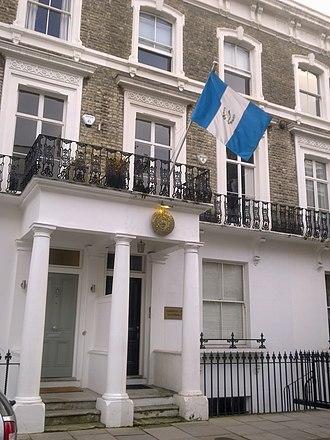 Embassy of Guatemala, London - Image: Embassy of Guatemala in London 1