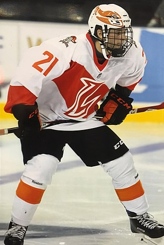 2018 NHL Entry Draft - Mathias Emilio Pettersen was selected 167th overall by the Calgary Flames.