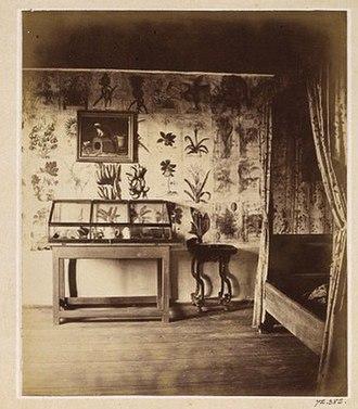 Emma Schenson - Image: Emma Schenson Hammarby 1864 Linnaeus Bedroom