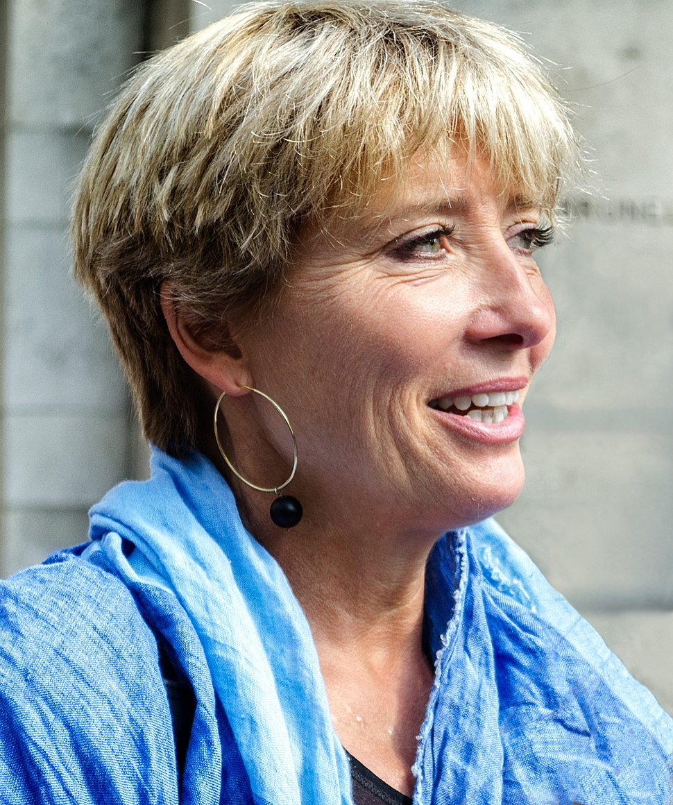 Emma Thompson at climate march