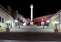 End of the Via Appia Antica (Brindisi) at night.jpg