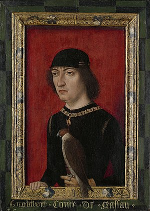 Engelbert II of Nassau - Portrait of Engelbrecht II of Nassau in the Rijksmuseum Amsterdam.