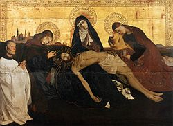 Enguerrand Quarton: Pietà of Villeneuve-lès-Avignon