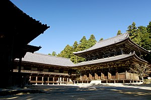 Engyō-ji - One of the main buildings in the Shoshazan Engyoji Temple complex.