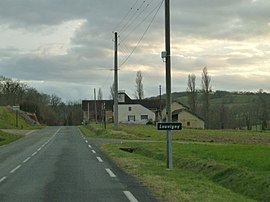 The road into Louvigny