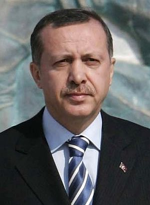 Turkish general election, 2002 - Image: Erdogan Canakkale (cropped)