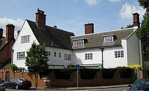Ernest Gimson - The White House (1898), North Avenue, Leicester