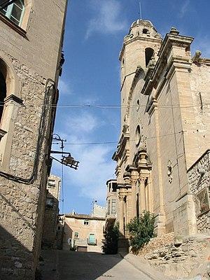 Maldà - Image: Església de Santa Maria