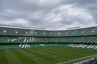 Estadio Benito Villamarín stadium at Seville, Spain