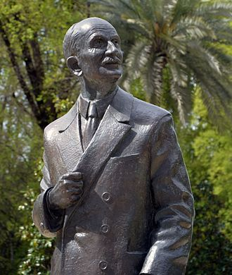 Ibero-American Exposition of 1929 - Statue of Aníbal González