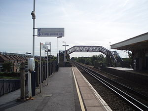 Portchester railway station - Image: Estbnd Prch Stn 1010023
